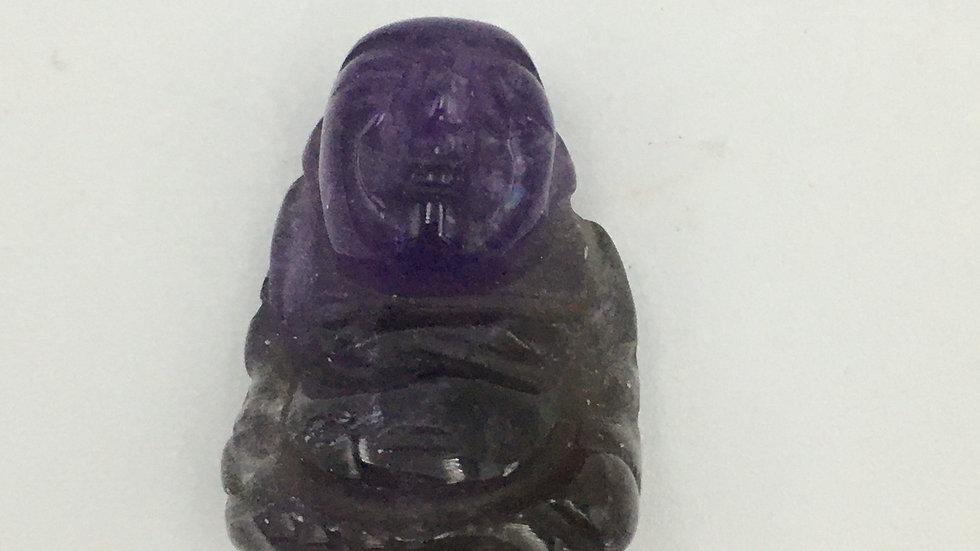 Amethyst Mini Buddha