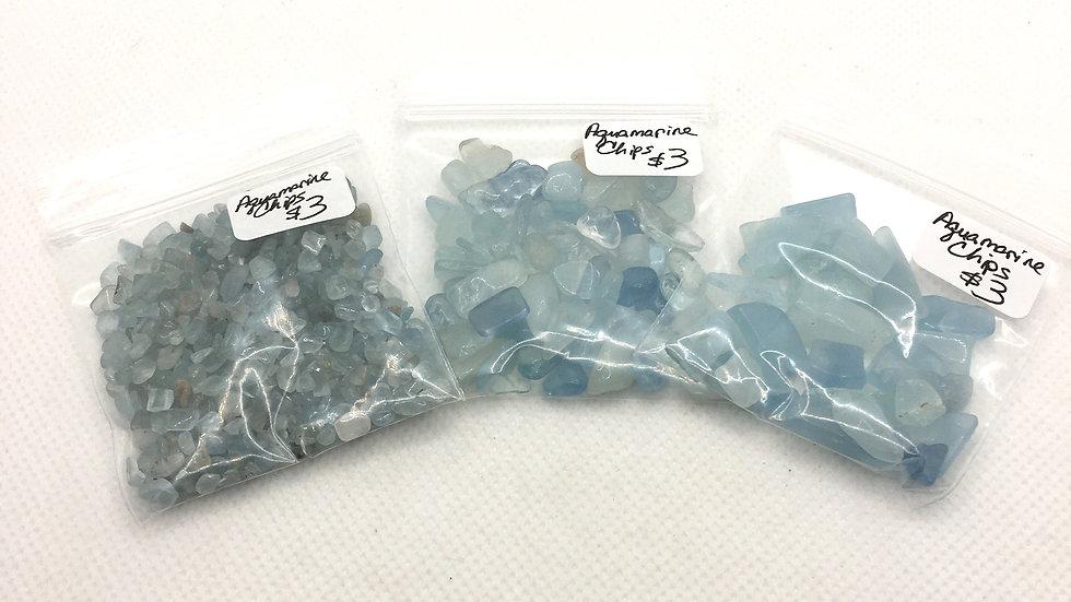 Aquamarine Chips