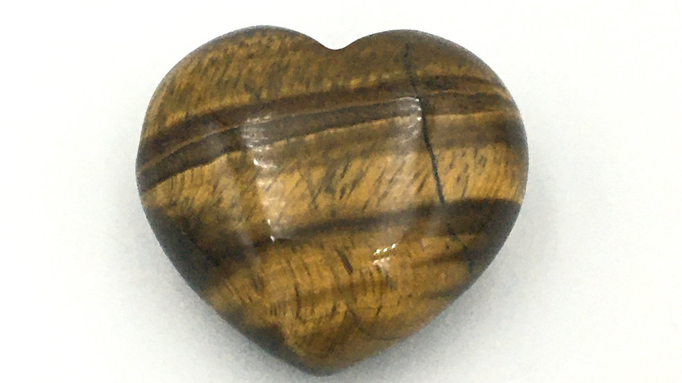 Golden Tiger Eye Mini Heart