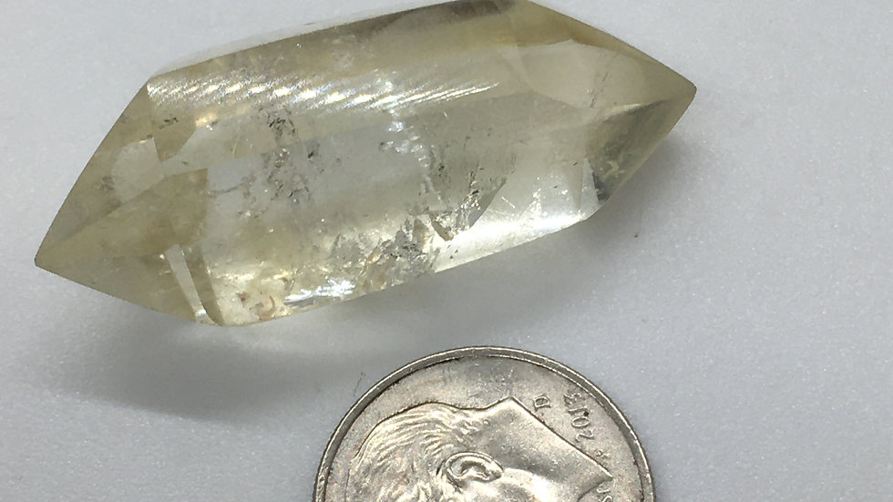 Natural Citrine Double Terminated