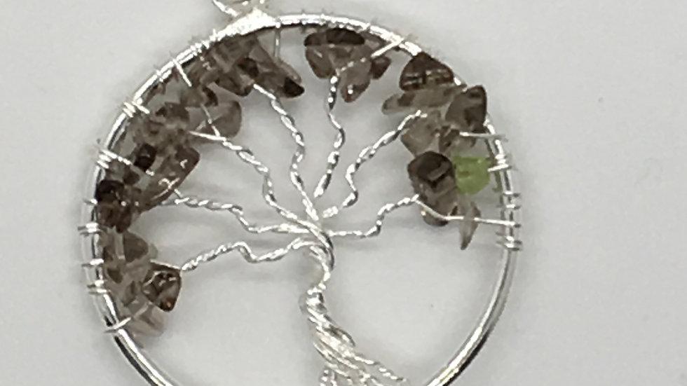 Smoky Quartz Tree of Life