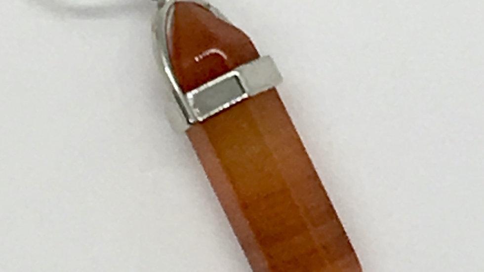 Carnelian Double Terminated Necklace
