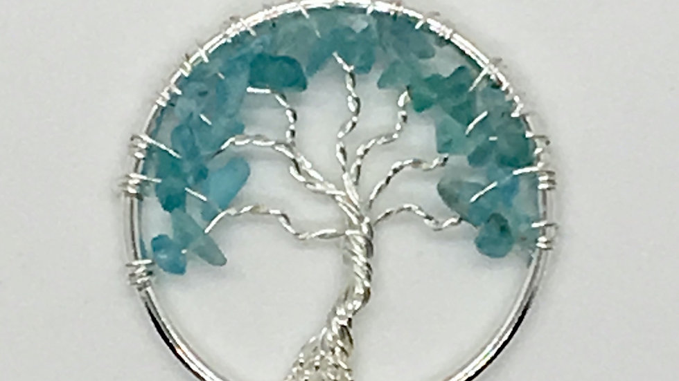 Aquamarine Tree of Life