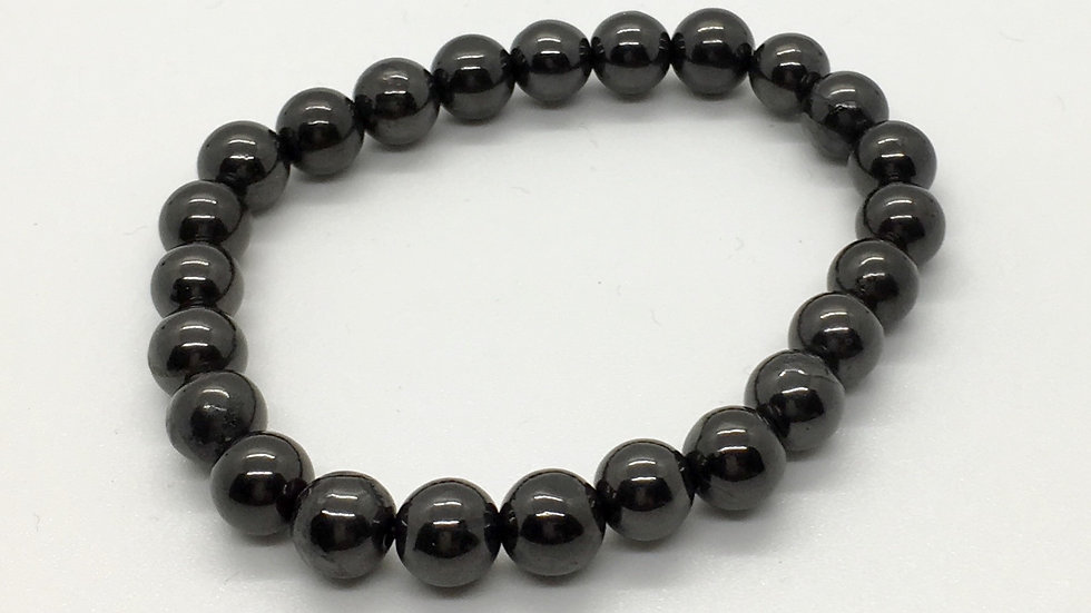 Shungite Bracelet with 8 mm Beads