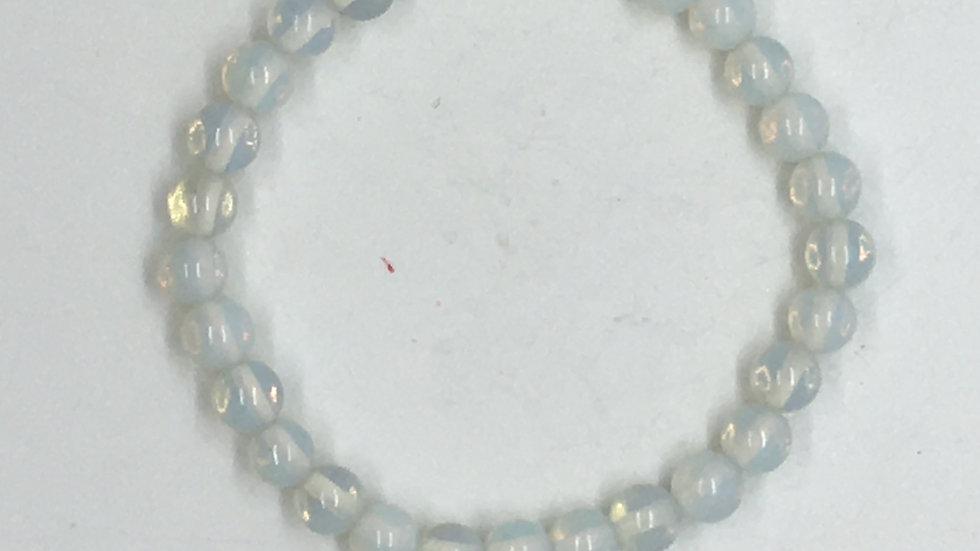Opalite Bracelet with 6mm beads