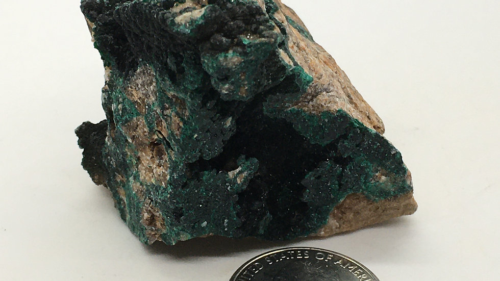 Pseudomalachite from Zambia