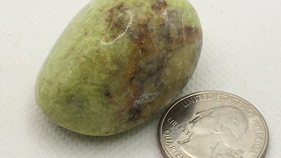 Apple Green Opal Palm Stone