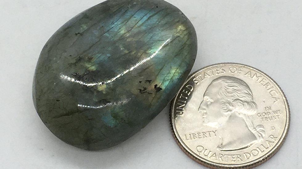 """Labradorite """"Mini"""" Palm Stone"""