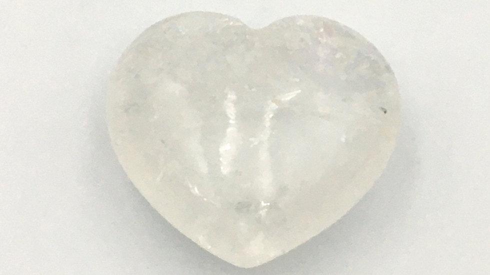 Clear Quartz Mini Heart