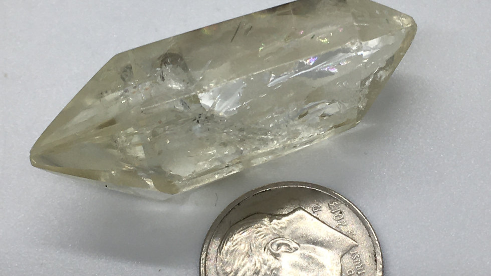 Natural Citrine Double Terminated Point