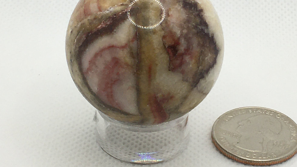 "Rainbow Calcite ""Mini Sphere"""
