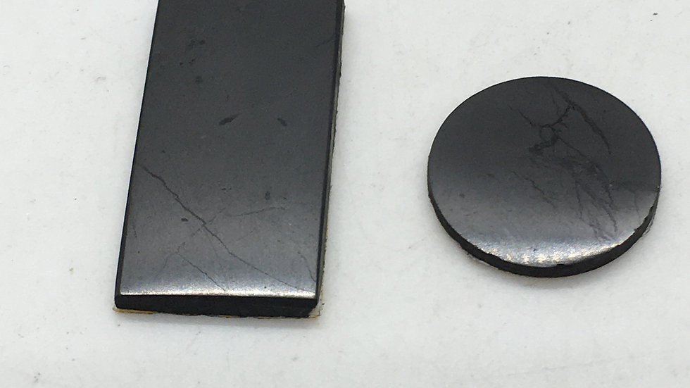 Shungite Disc for Cell Phone or Electronic Devices