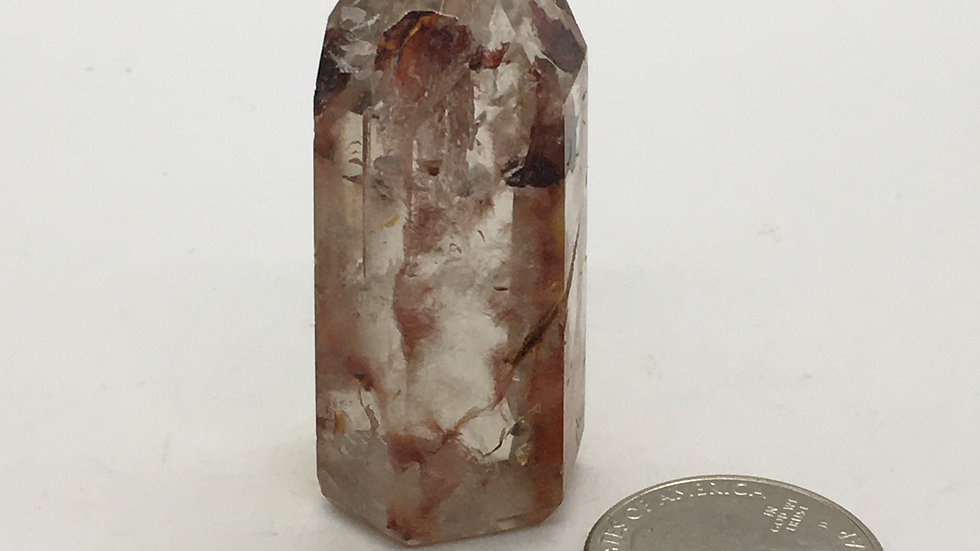 Amphibole Quartz Point/Tower