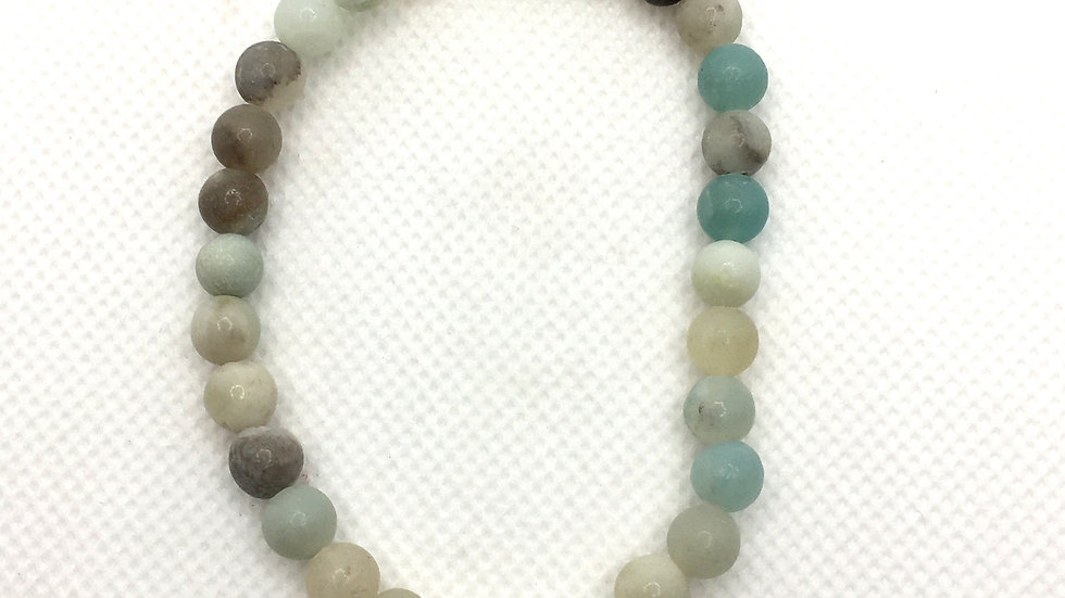 Amazonite Bracelet with 6 mm Beads