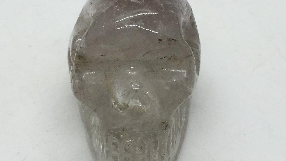 """Lithium Quartz 2"""" Skull"""