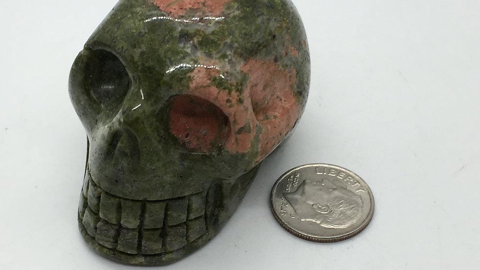 "Unakite 2"" Skull"