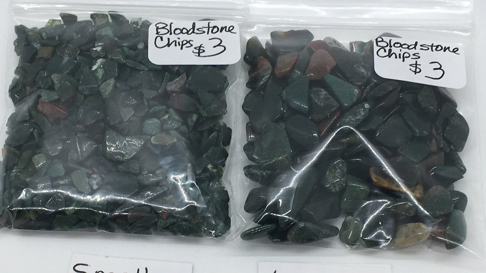 Bloodstone Chips