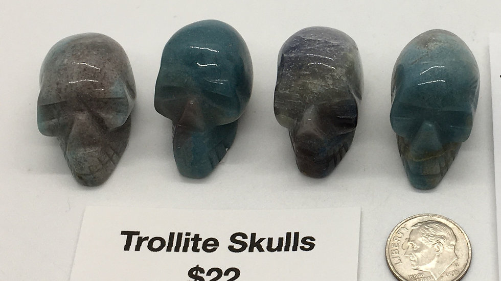 "Trollite 1 1/4"" Skulls"