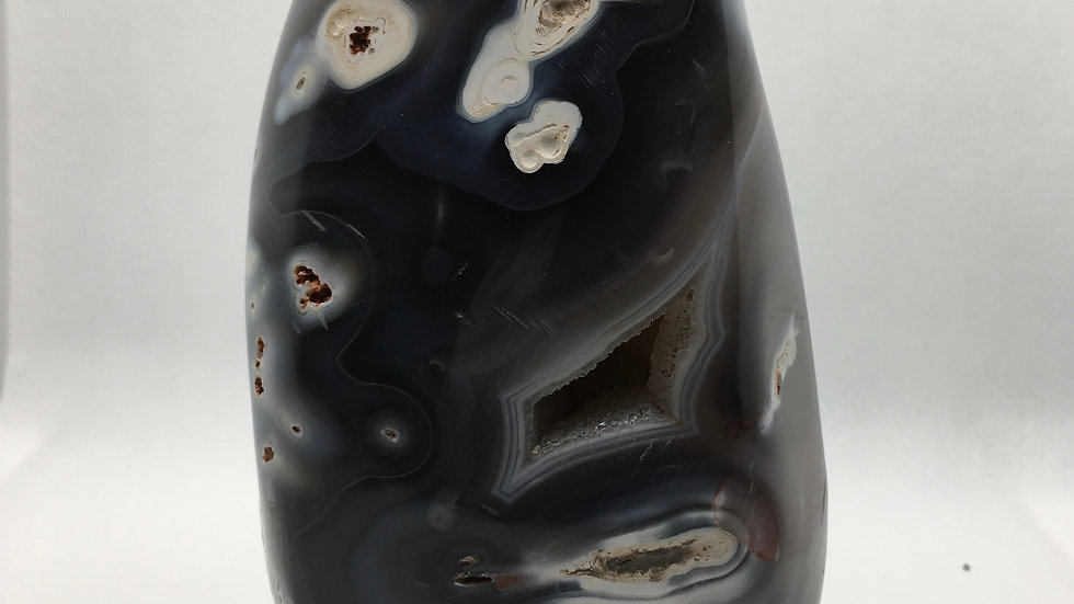 Orca Agate Free Form