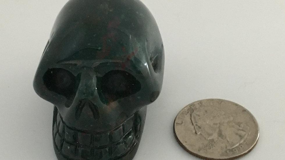 """Bloodstone 2"""" Skull"""