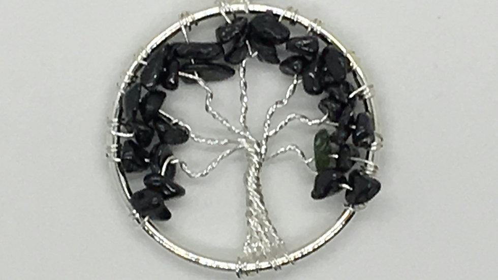 Black Tourmaline Tree of Life