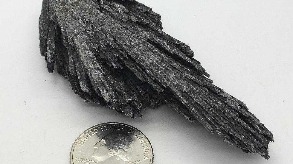Black Kyanite Fan Blade