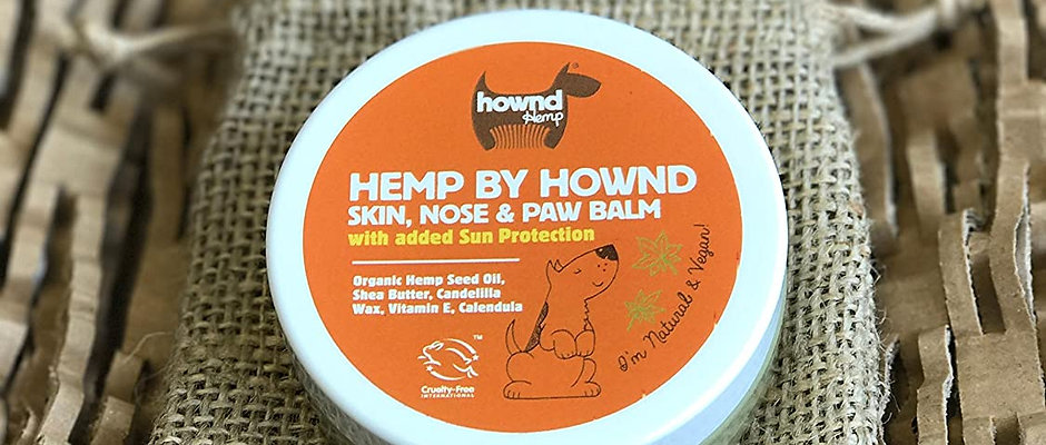 HOWND Hemp Skin, Nose and Paw Balm with Sun Protection  50g