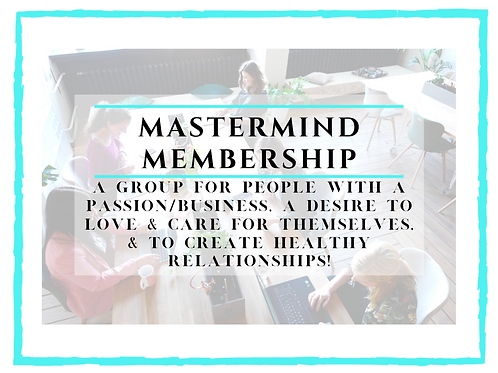 Mastermind Membership Monthly Special