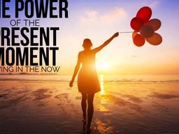 Practicing 'present moment awareness'