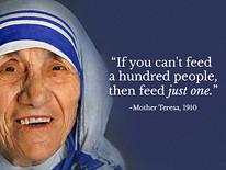 God's presence and Mother Teresa