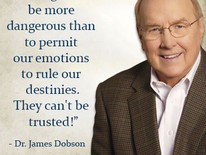 Healing truth: we don't immediately trust feelings and emotions