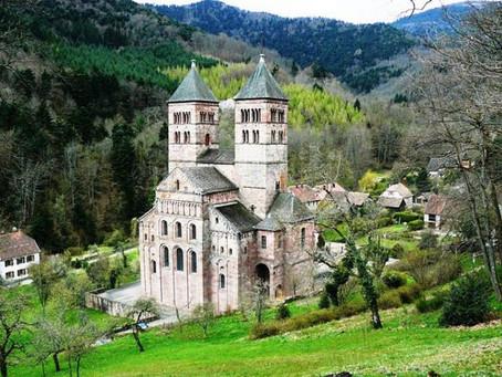 Alsace - Abbayes et Monastères