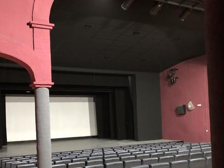 Un nou sostre per a la Sala de Teatre i Cinema Bell-Lloc