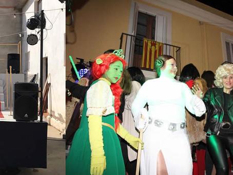 El cinema a la rúa de la nit i participació en la infantil