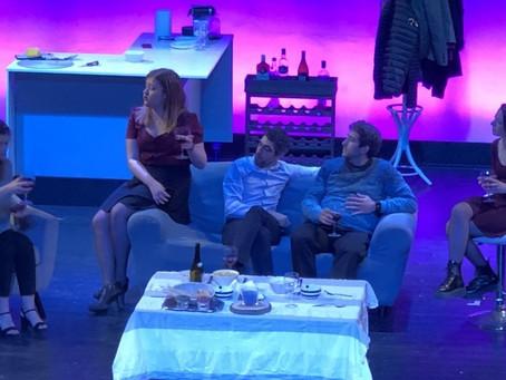 """Magnífica afluència de públic i fantàstica posada en escena de """"En Línia"""" pel Jove Bell-Ll"""