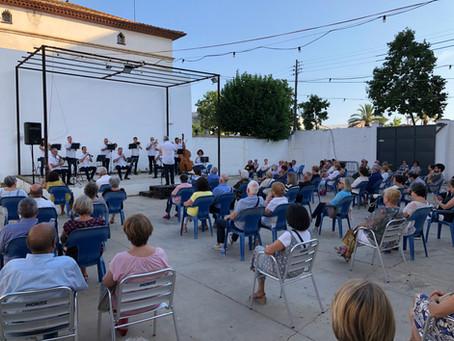 Magnífic concert de la suburense Cobla Maricel