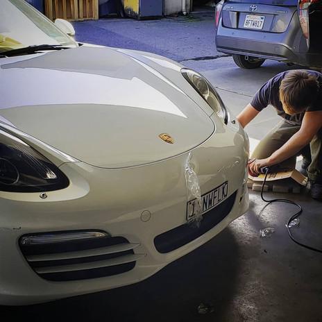 Porsche? Porsche.