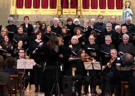 Magnífic concert de Nadal amb èxit de públic
