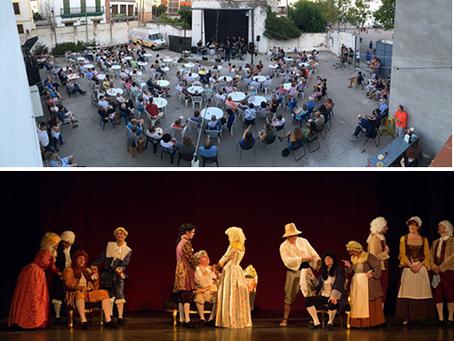 Gran acolllida de públic en els 8 actes de Festa Major