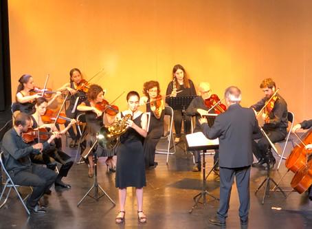 Primer concert de clàssica amb músics de la Simfònica de St. Cugat