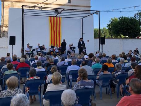 Rotllana Ribetana estrena la temporada d'estiu oferint un concert de Cobla