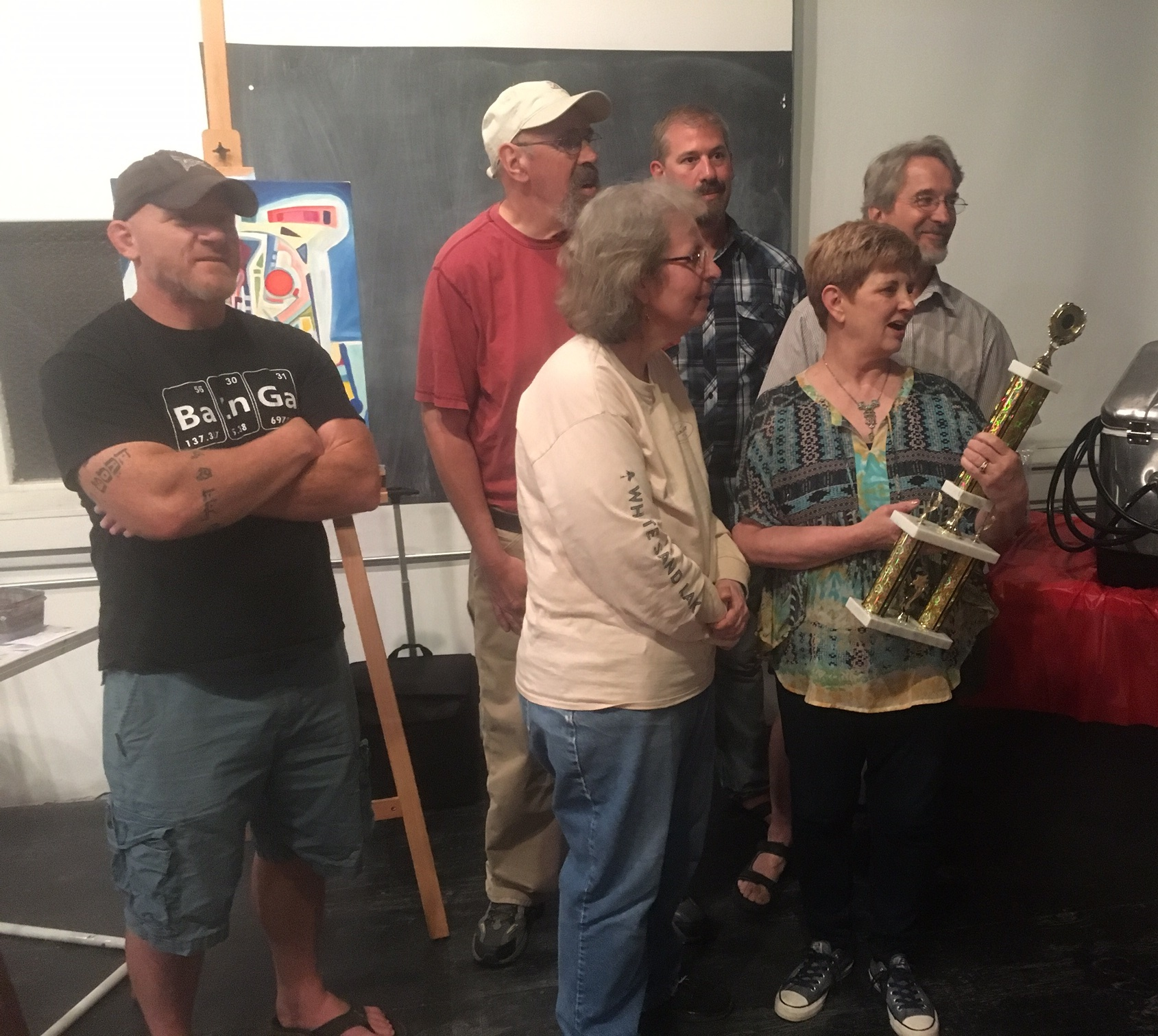 6/17 Artists in Motion  group