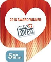Locals love us  5-year award.png