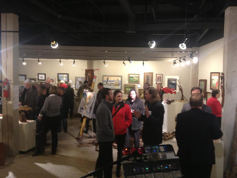 1/16 Gallery West reception