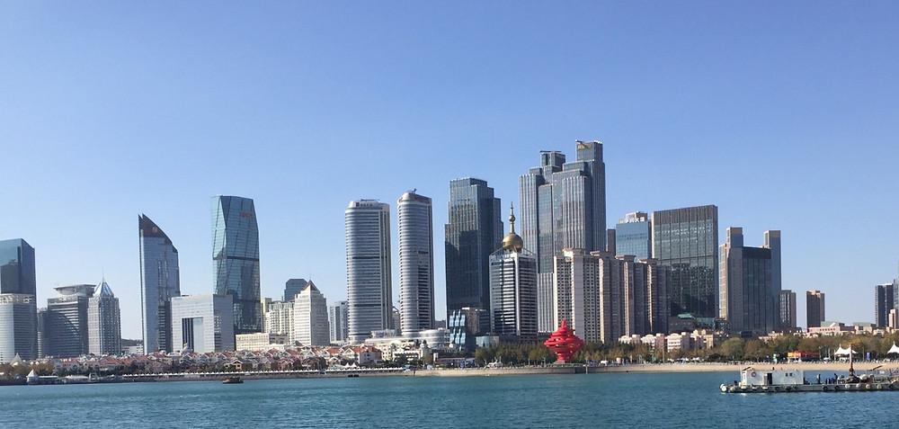Qingdao - En vakker by ved Kinas kyst.