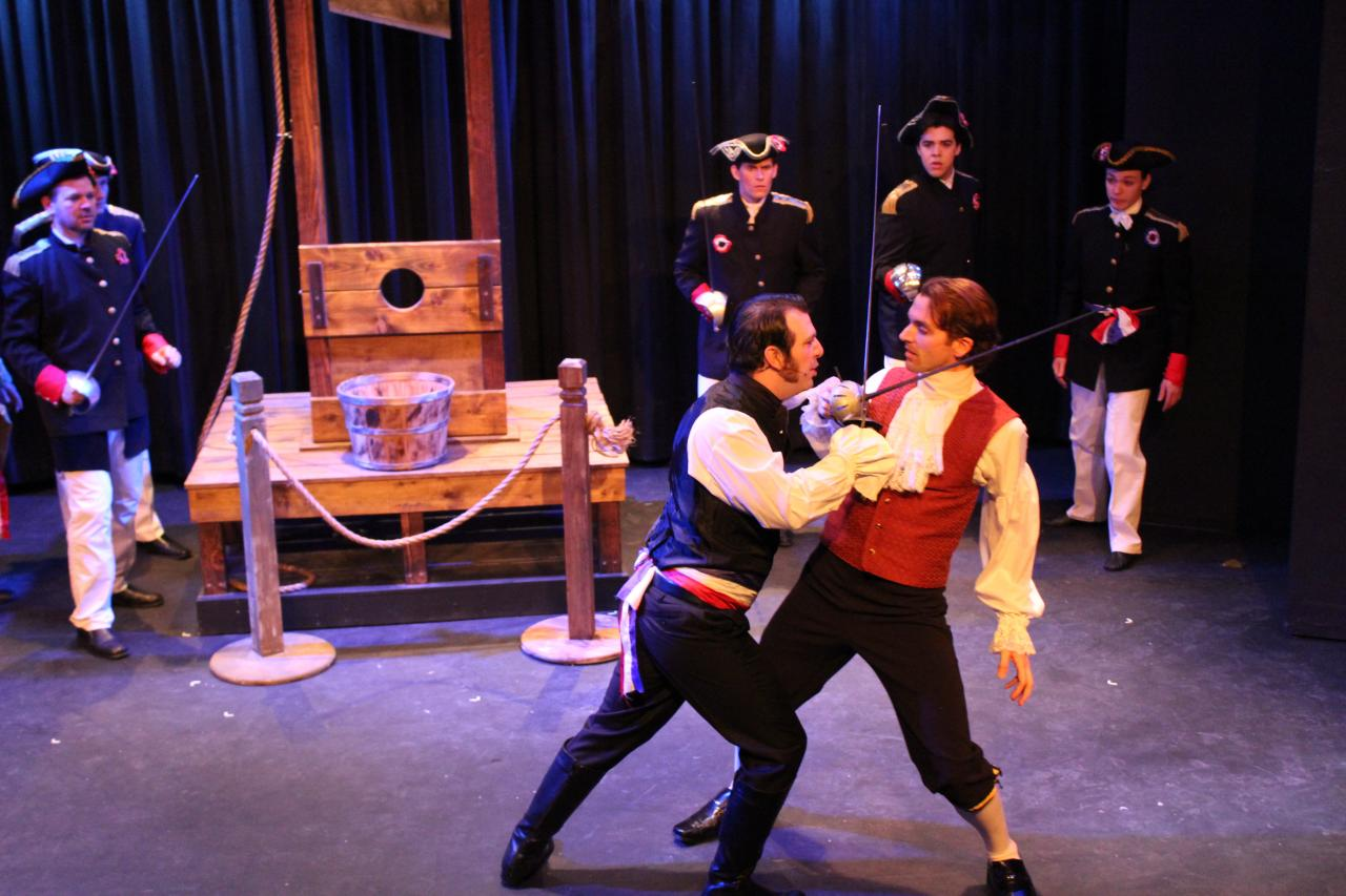 Scarlet Pimpernel at Rhino Theatre