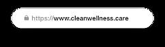 CBD online store custom domain - cleanwellness.care.