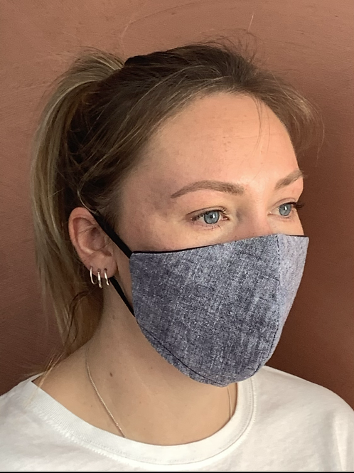 Natural Chambray mask & filter