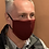 Thumbnail: Cool Quik - Burgundy mask & filter