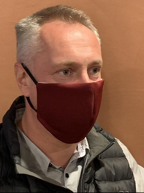 Cool Quik - Burgundy mask & filter